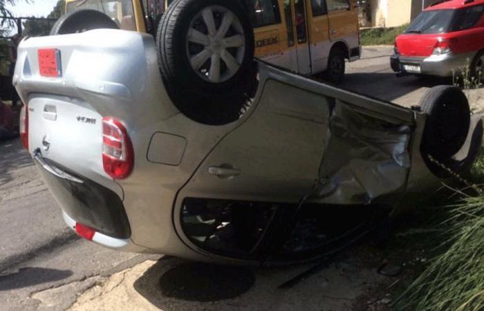 جريحان في حادث سير على طريق عام فيطرون