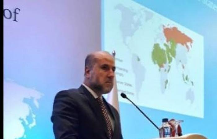 فلسطين | الهباش يلقي كلمة فلسطين في مؤتمر منظمة التعاون الإسلامي حول القدس في انقرة