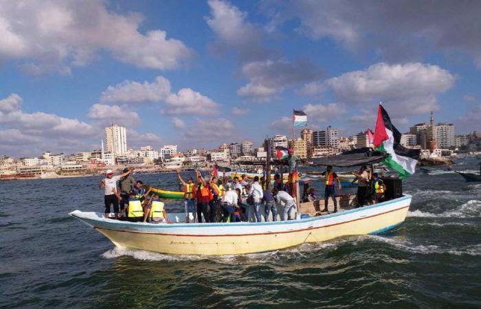 فلسطين   هيئة كسر الحصار تعلن موعد انطلاق المسير البحري الثاني عشر