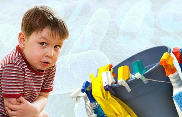 أدوات التنظيف المنزلية ممكن أن تسبب لطفلك الإصابة بالسمنة