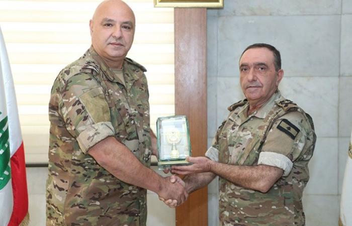 قائد الجيش في تكريم ملاك: من نخبة الضباط