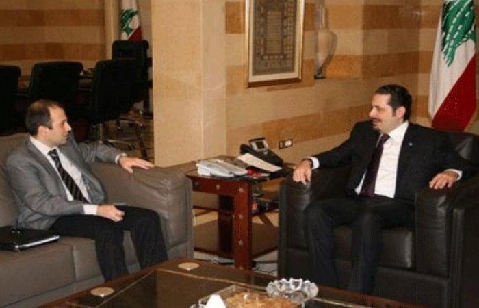 """مصادر مسؤولة في """"المستقبل"""": باسيل مصر على عرقلة مهمة الحريري"""