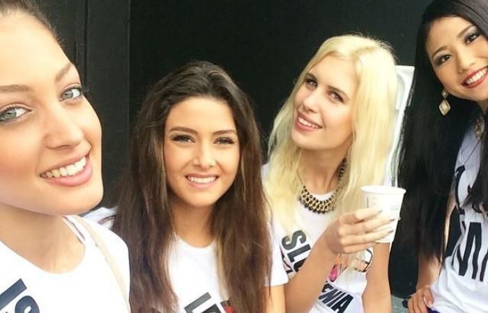 فلسطين | سحب لقب ملكة جمال لبنان بسبب صورة مع ملكة جمال اسرائيلية