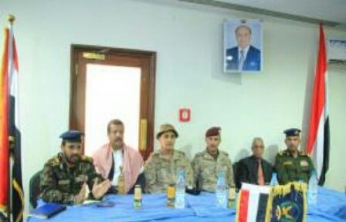 اليمن   تفاصيل اجتماع هام لقيادات التحالف العربي مع قيادات وزارة الداخلية بـ«مأرب»