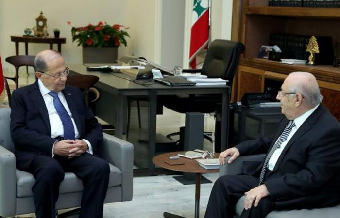 الرئيس عون: الأولوية للملف الحكومي