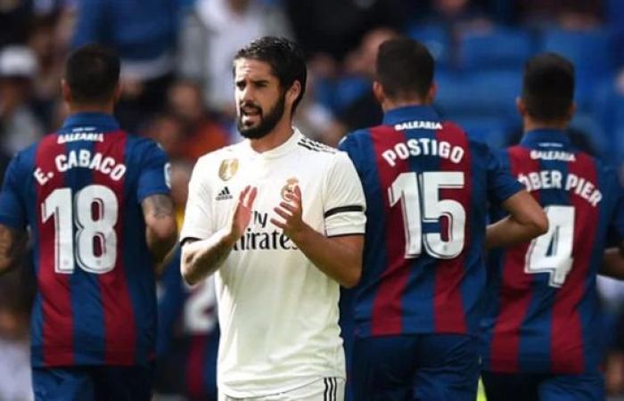 فلسطين | فيديو.. ليفانتي يهزم ريال مدريد ويضع لوبيتيجي على حافة الإقالة
