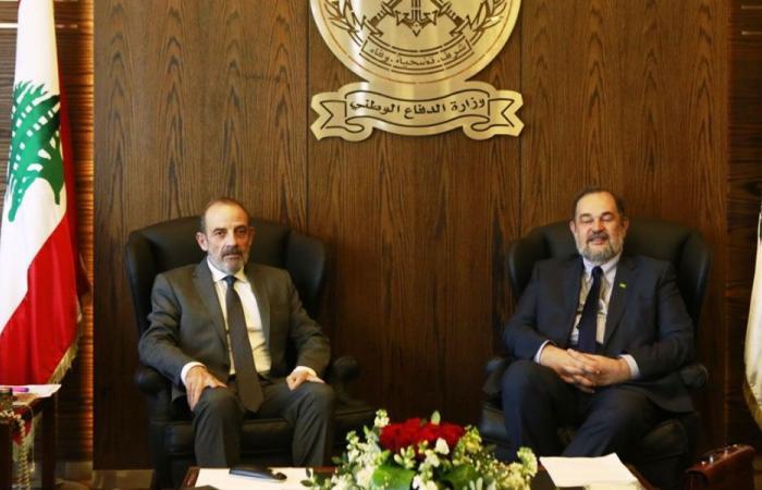 الصراف بحث مع السفير البرازيلي العلاقات بين البلدين