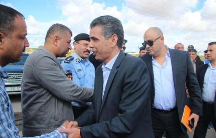 فلسطين | اللواء عبد الخالق يزور المنطقة التي انكشفت فيها القوة الإسرائيلية شرق خان يونس