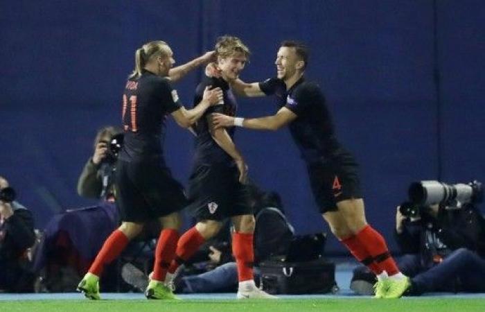 كرواتيا تهزم إسبانيا وتنعش آمالها في دوري الأمم الأوروبية