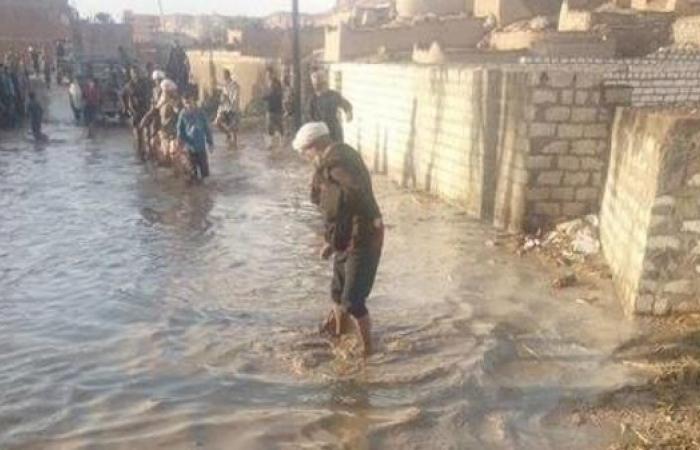مصر   مصر..السيول تغرق قرية بأسيوط والسلطات تخلي منازلها