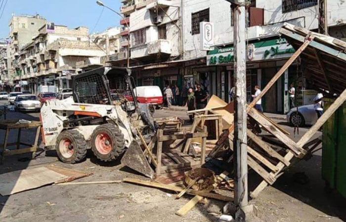 بلدية طرابلس أزالت مخالفات في التبانة… والأهالي يرحّبون
