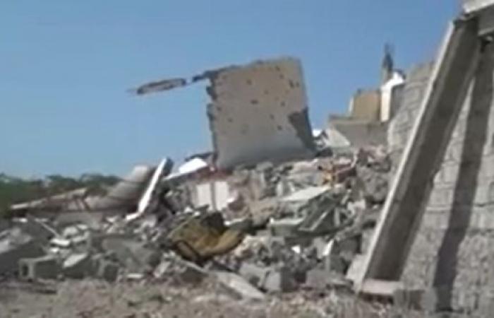 اليمن | فيديو.. الحوثيون يفجرون مدرسة بالحديدة ويلغمون الشوارع