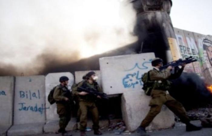 فلسطين   إصابات بالرصاص الحي والاختناق في مواجهات بعوريف