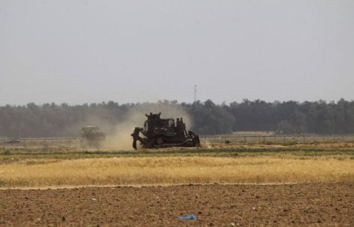 فلسطين | إصابة مزارع شرق المغازي وتوغل محدود لآليات الاحتلال شرق دير البلح