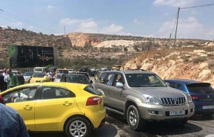 فلسطين   6 اصابات في حادث سير في نابلس