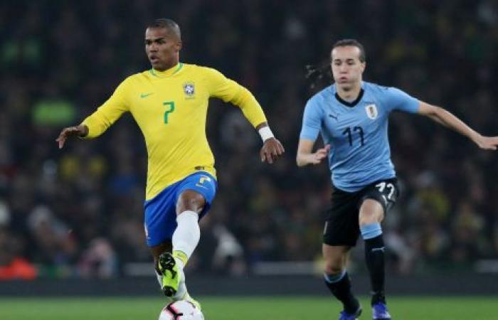 فوز ودي باهت للبرازيل على الأوروغواي