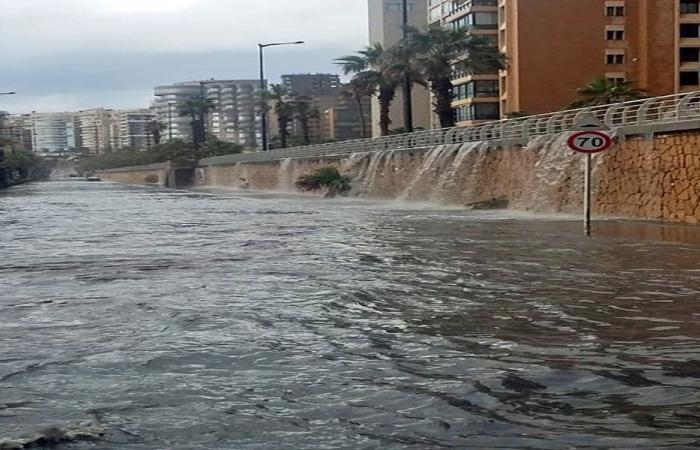 اجتماع لنواب بيروت الاثنين للادعاء على مجهول بسبب الفيضانات