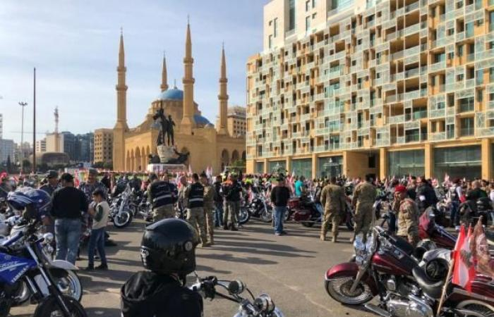 بالصور: أكثر من 400 دراجة من ساحة الشهداء الى البقاع والشمال