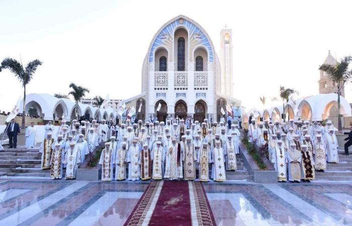 مصر   بدون احتفالات.. إحياء نصف قرن لأول كاتدرائية لأقباط مصر