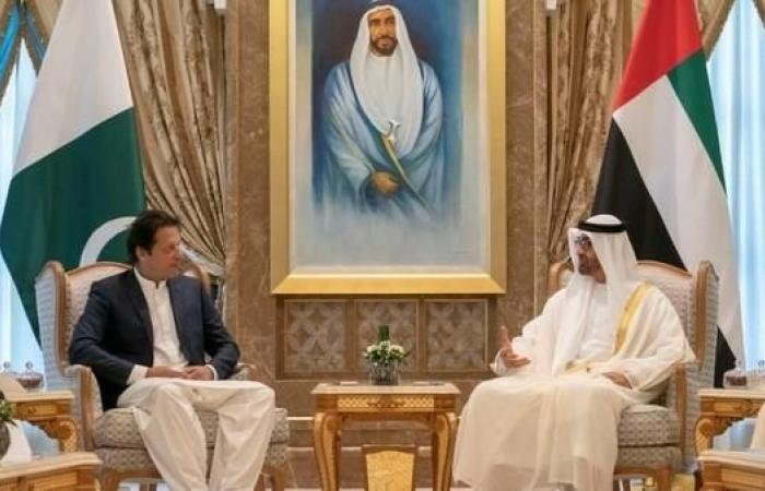الخليح   محمد بن زايد يبحث مع عمران خان قضايا إقليمية