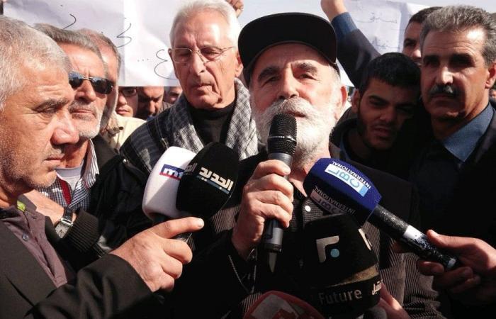 اعتصام على طريق رياق بعلبك احتجاجًا على تأخير حل تلوّث الليطاني