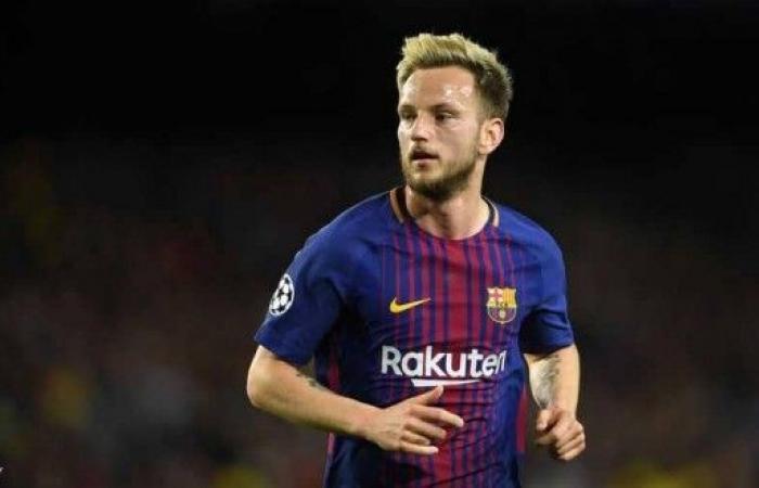 برشلونة يكشف تفاصيل إصابة راكيتيتش
