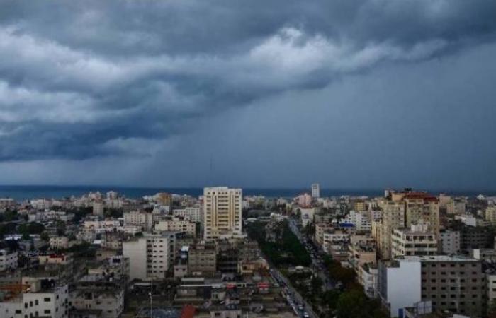 فلسطين   الجو غائم جزئيا الى صاف والحرارة أعلى من المعدل