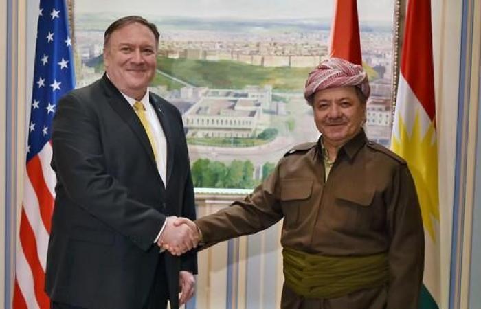 إيران | بومبيو يصل إلى أربيل ويجتمع مع مسؤولين أكراد