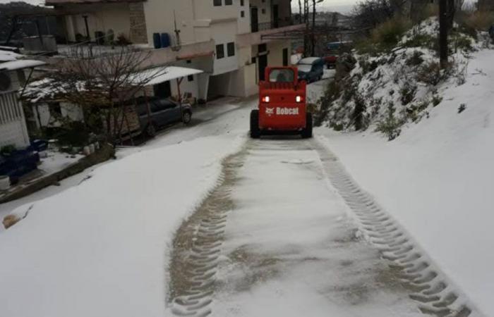 الثلوج تساقطت على ارتفاع 500م في الجومة – عكار