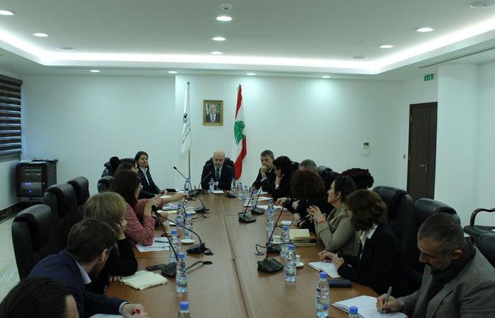 حاصباني للدول المانحة والمنظمات الدولية: لزيادة الدعم المالي للبنان