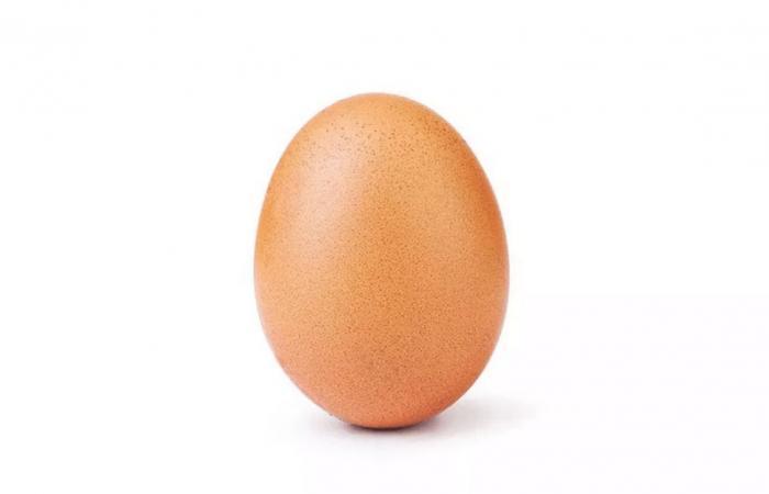 صورة بيضة تحطم الرقم القياسي كأكثر الصور إعجابًا على إنستاجرام