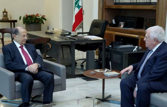 عون استقبل وفد مجلس ادارة جمعية تجار بيروت والقصار