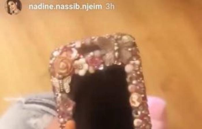 نادين نسيب نجيم تعرض احد اغراضها القديمة.. لن تتخيلوا ما هو!