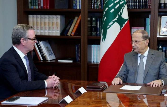 عون: نشجّع تعزيز العلاقات الاقتصادية مع أستراليا