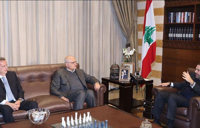 الحريري تابع مع حسن خليل وسلامة الأوضاع المالية
