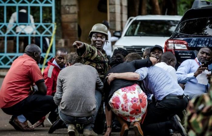 قوات الأمن الكينية تمشط موقع الاعتداء في المجمع الفندقي بنيروبي