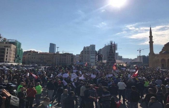 4 اتحادات نقابية دعت إلى المشاركة في تظاهرة الأحد