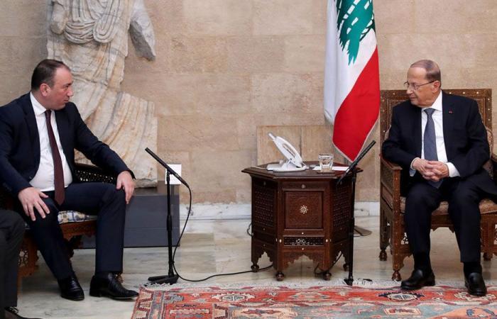 عون: لتعزيز العلاقات بين لبنانوالبوسنة والهرسك