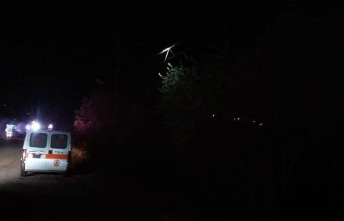 حريق عامود للإمداد بالطاقة الكهربائية في أميون