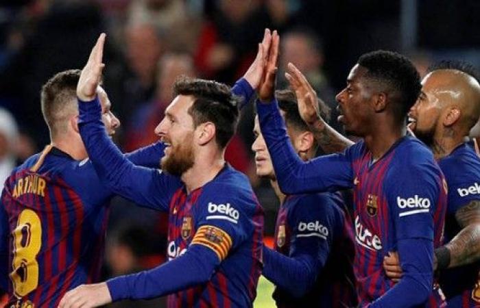 برشلونة يعوض خسارته ذهاباً ويتأهل لربع النهائي