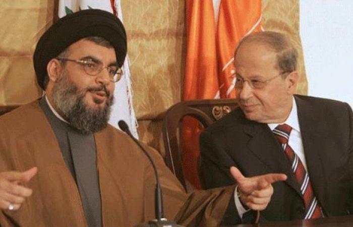 """""""حزب الله"""": عون الضمانة الوحيدة لإستمرار تفاهم مار مخايل"""