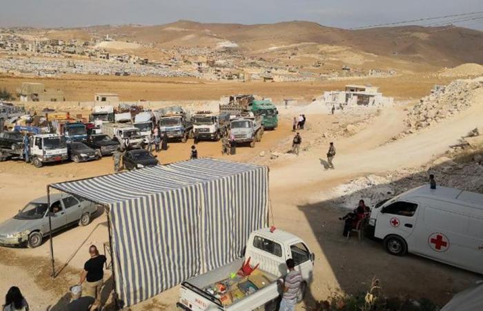مركز الملك سلمان للإغاثة وزّع مساعدات على النازحين في عرسال