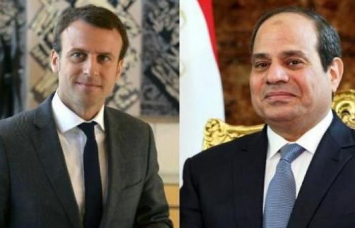 مصر | قمة تجمع السيسي وماكرون في القاهرة نهاية يناير