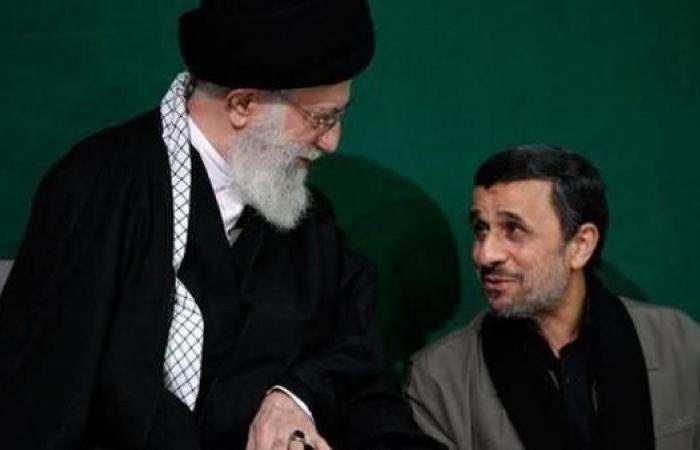 إيران   رسالة من أحمدي نجاد لخامنئي مهاجماً روحاني ولاريجاني