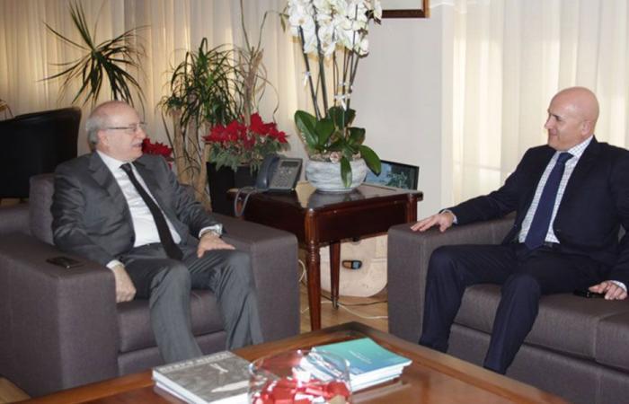 الخوري بحث مع سفير الارجنتين العلاقات الثنائية