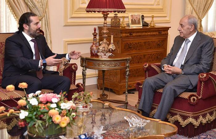 بري: الحريري يأمل أن تشكّل الحكومة خلال أسبوع أو أقل