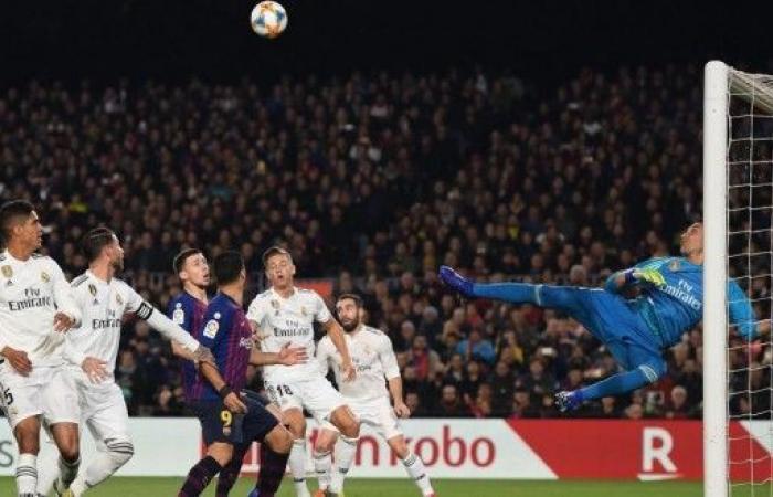 ريال مدريد يعود من برشلونة بتعادل ايجابي