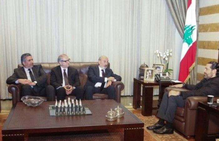 الحريري استقبل وفدا من إدارة نادي الحكمة يحشوشي: حاضر لمساعدتنا على أي صعيد