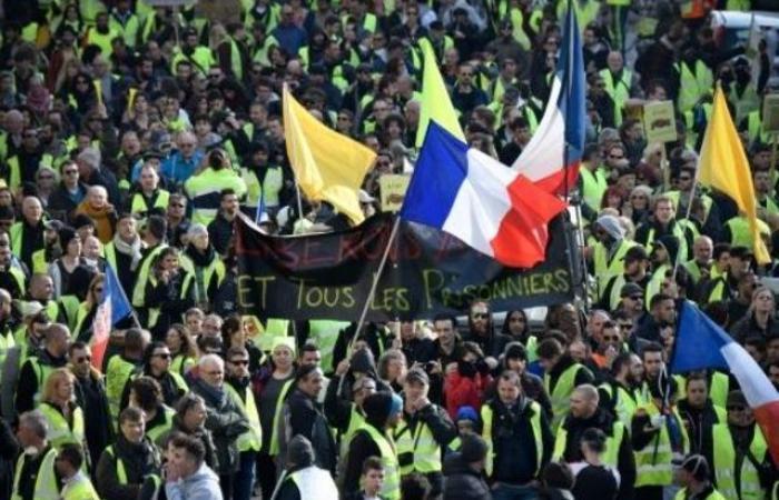"""محتجو """"السترات الصفراء"""" يتظاهرون للسبت الرابع عشر في فرنسا"""