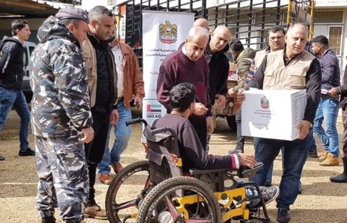 خير أشرف على توزيع مساعدات إماراتية في عكار